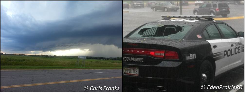 Photos of the August 6, 2013 storm