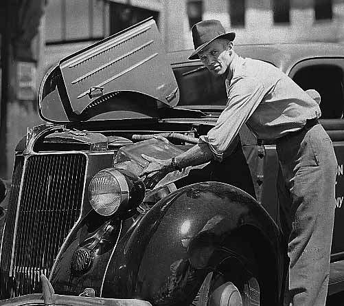 Cooling a Car in the 1930's