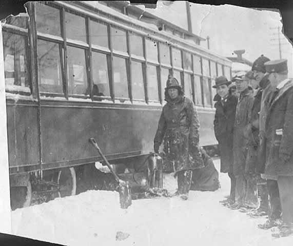 Blizzard in St. Paul: April, 1923