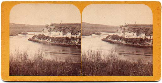 Fort Snelling Stereoview