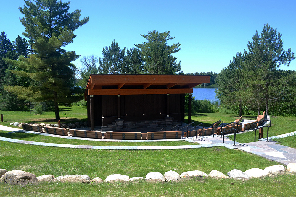 Itasca State Park amphitheater