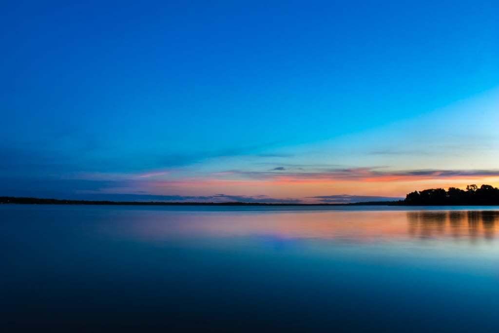 Cass Lake sunrise