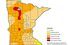 drought mpa of minnesota. detail in article.