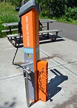 Photo: bike tune-up station