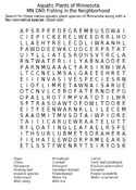 Aquatic Plant Word Search