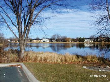 Boundary Creek Lake.