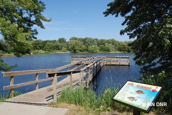 Langton Lake.
