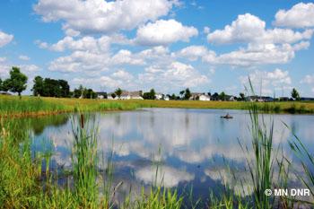 Lion's Park Pond.