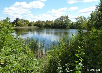 Marthaler Lake.