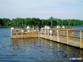 Powers Lake.