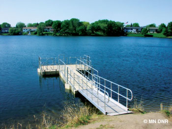 Wood Park Lake.