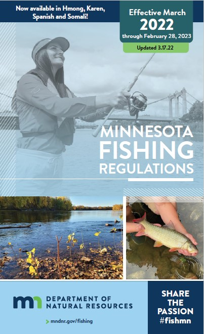 Fishing regulations cover