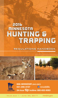 Hunting and Trapping in Minnesota Cover