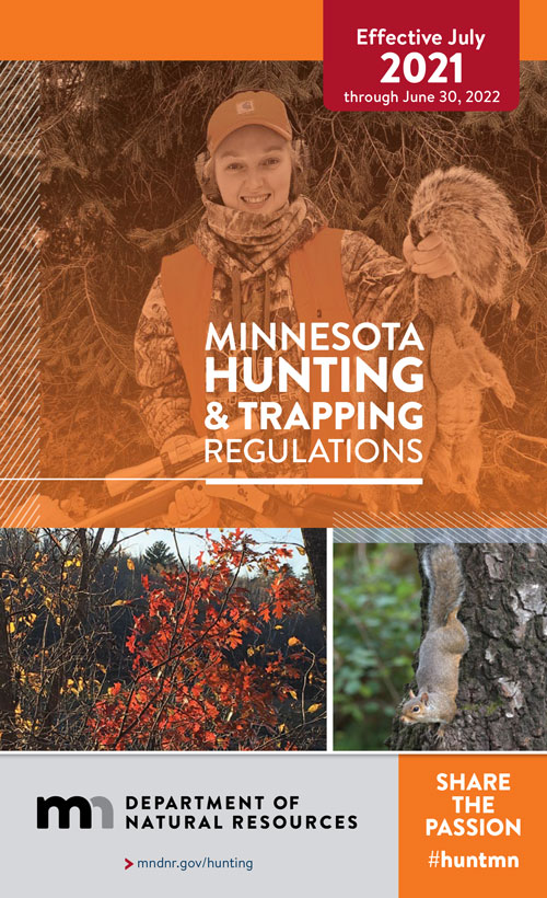 Hunting regulations cover