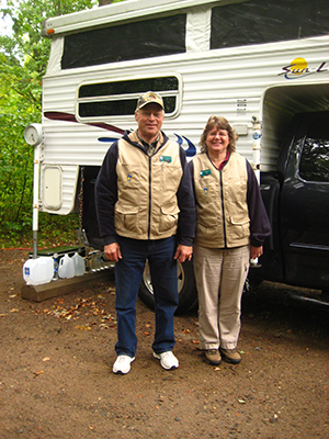 campground hosts