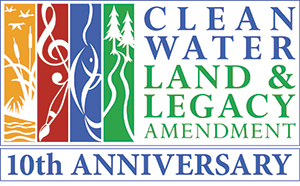 clean water land & legacy amendment 10th anniversary and logo
