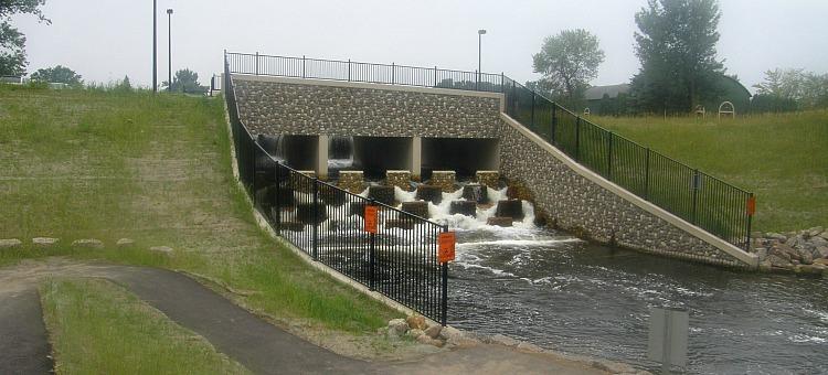 new london dam