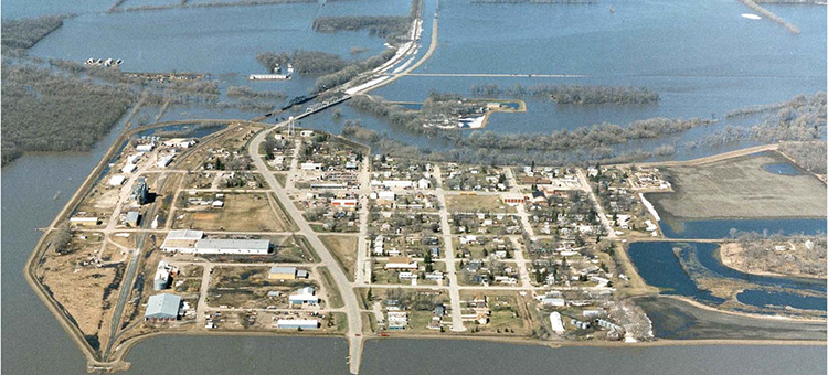 olso minnesota flood in 1997