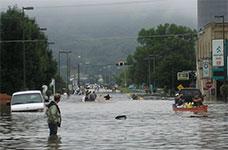 thumbnail image of flooding in Rushford Minnesota