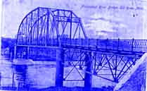 Historic photo of Elk River Bridge