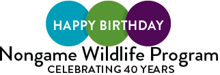 Happy birthday Nongame Wildlife Program