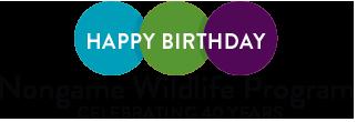 Happy birthday Nongame Wildlife Program